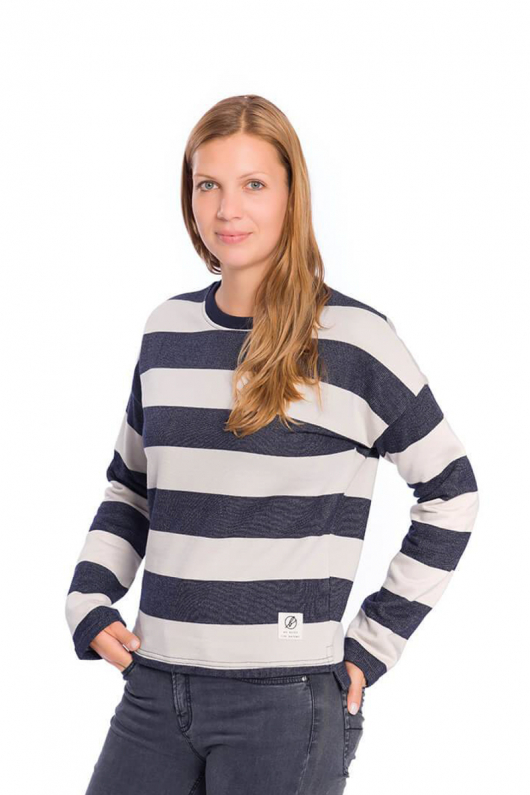 Captains Sweater - Navy i gruppen OUTLET hos THRIVE (61191746f)